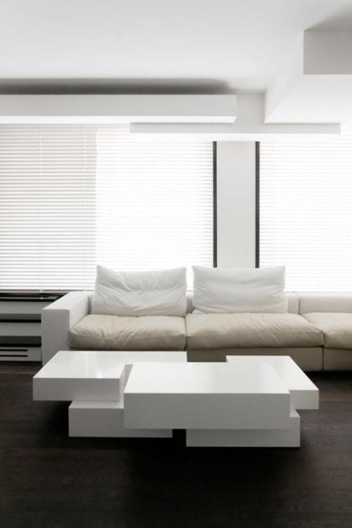 Modern Duplex Apartment Interior Design