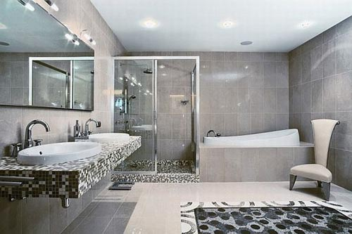 elegant African bathroom design