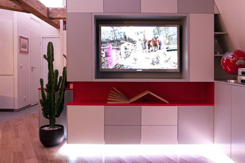 stunning rustic apartment TV stand