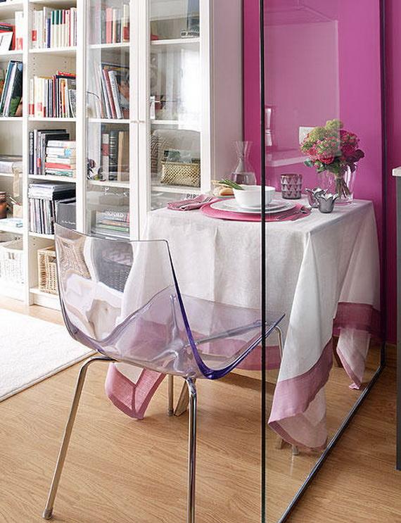 Dining Room-40 Square Meter Apartment