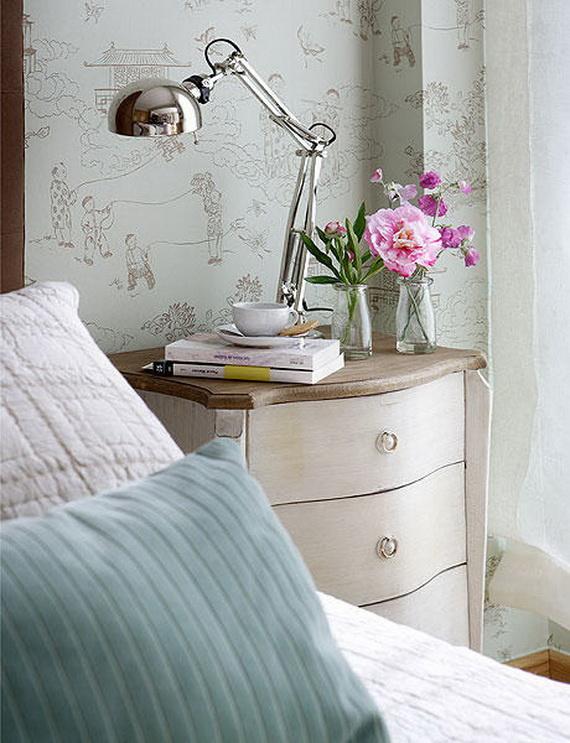 Lighting bedroom-40 Square Meter Apartment Ideas