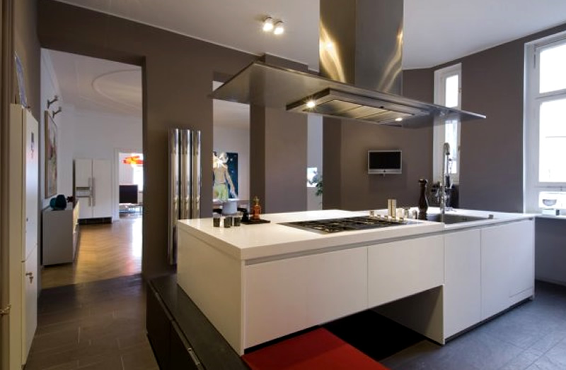 Modern Apartment Interior Design Ideas Berlin Rodeo Kitchen