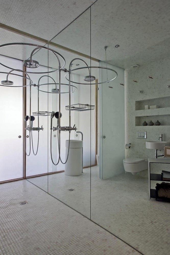 Bathroom Interior at Apartment