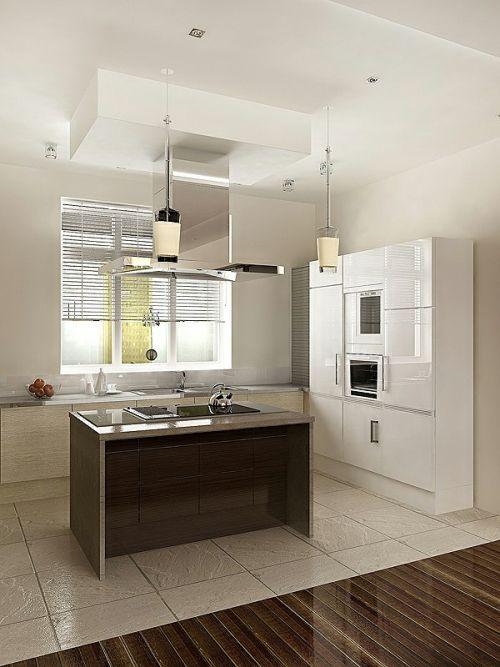 Minimalistic Apartment Design Kitchen