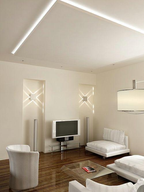 Minimalistic Apartment Design livingroom
