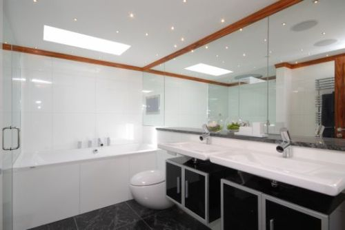 Modern Bathroom London Penthouse Apartment