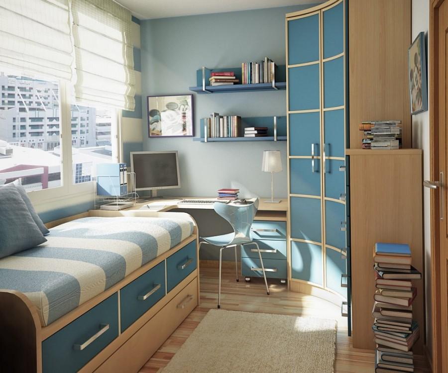 Teen Room-blue