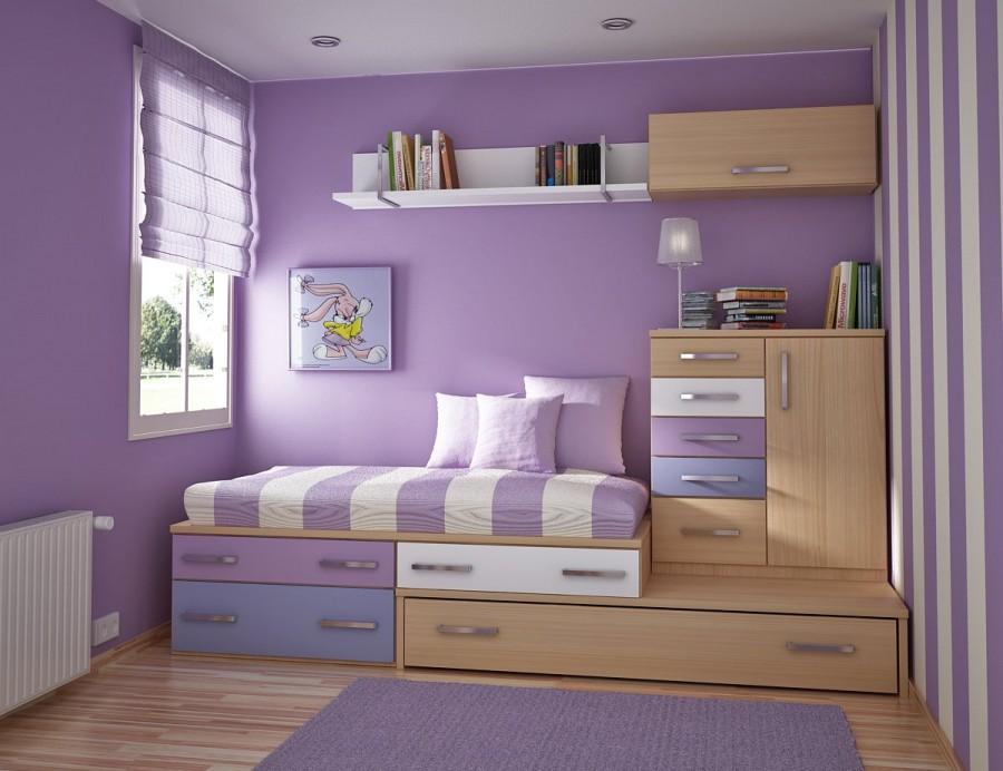 Teen Room-purple wall