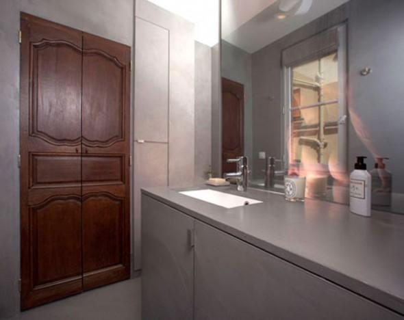 23 Square Meter Apartment in Paris called Red Nest Apt Interior09