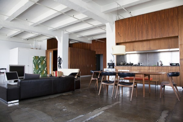 Loft in Apartment of New York City-two