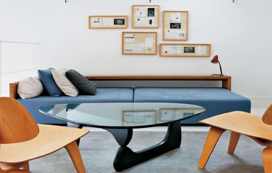 Table and sofa Unique Spanish Apartment