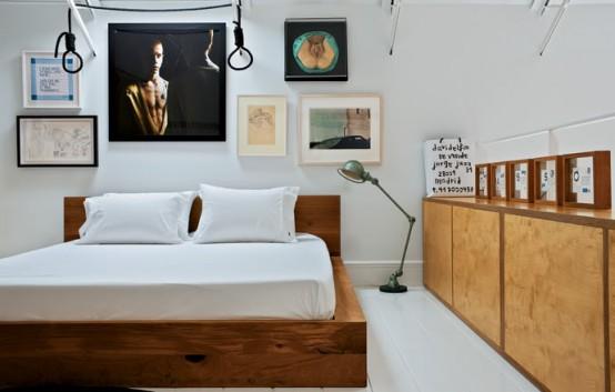 Unique Bedroom Spanish Apartment