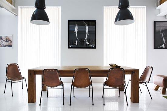 Unique Dining Table Spanish Apartment