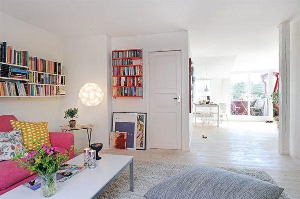 clean swedish apartment