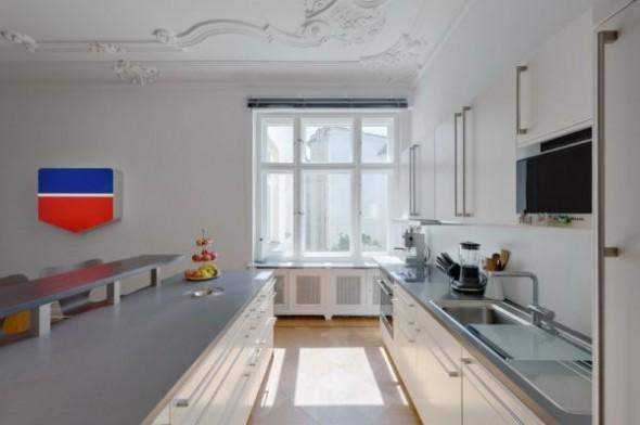 Kitchen Wilhelminian Apartment Berlin