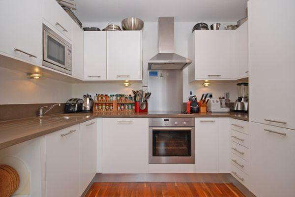 Modern Kitchen London Penthouse