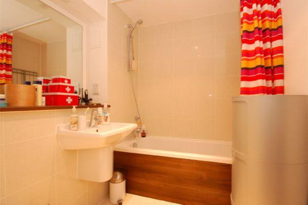 Modern bathroom London Penthouse