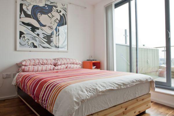 Modern bedroom London Penthouse