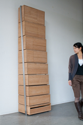 Staircase storage by Danny Kuo