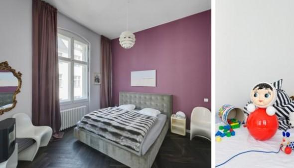 bedroom Wilhelminian Apartment Berlin