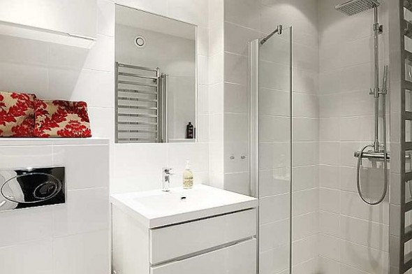 elegant bathroom cabinet apartment