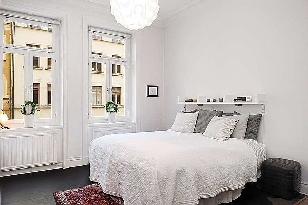 elegant bedroom apartment