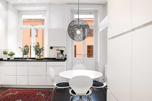 elegant small dining table apartment