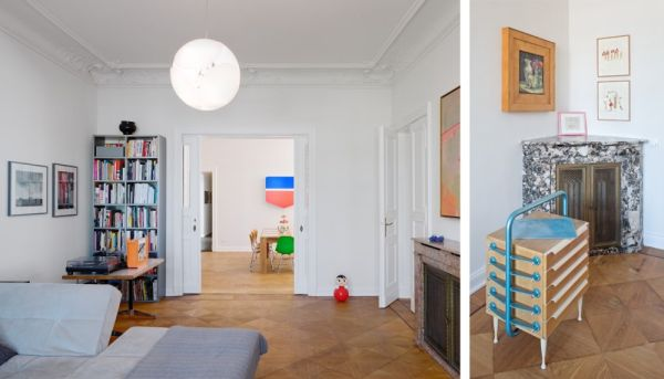 living Wilhelminian Apartment Berlin