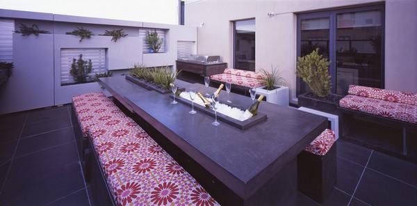 modern dinner apartment melbourne