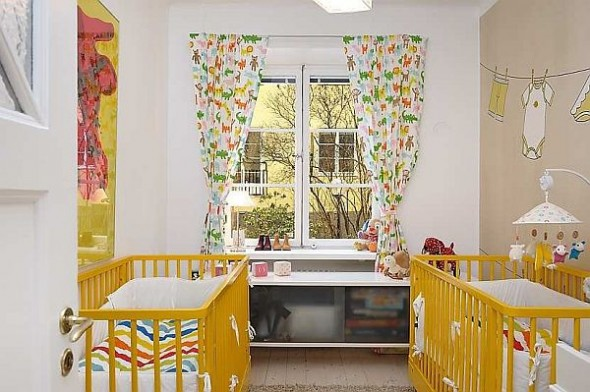 renovated baby room