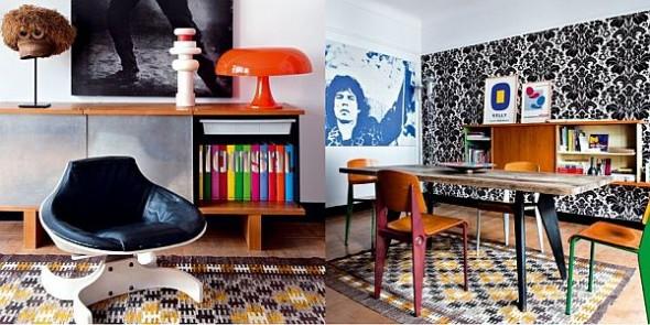 vintage apartment james chairs