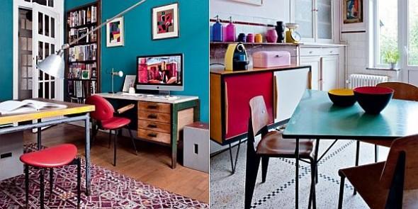 vintage apartment james colorful