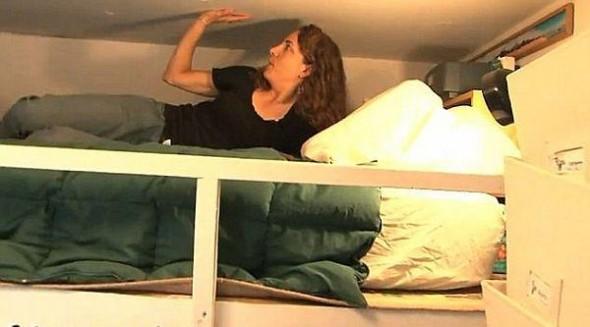 8.36 square meter flat apartment in America