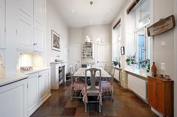 Superior Beautiful Dining Room Traditional Swedish Apartment Photo Gallery