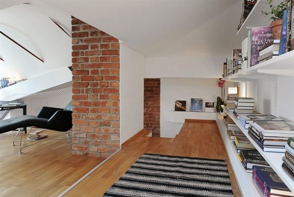 Gorgeous Penthouse reading room Apartment
