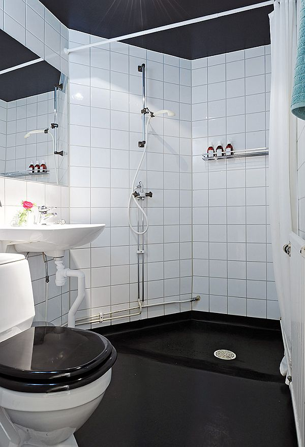 bathroom cozy apartment in Linnaeus Town