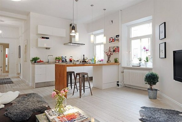 contemporary and Elegant complex dining apartment in Vaasa City