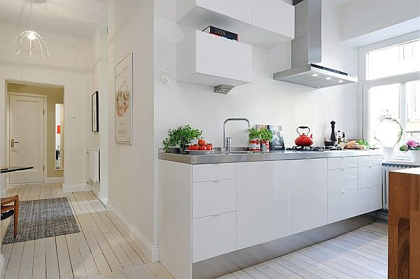contemporary and Elegant complex kitchen apartment in Vaasa City