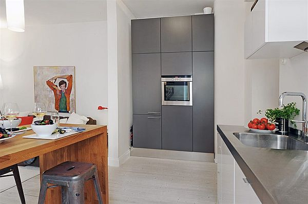 contemporary and Elegant complex kitchen table apartment in Vaasa City
