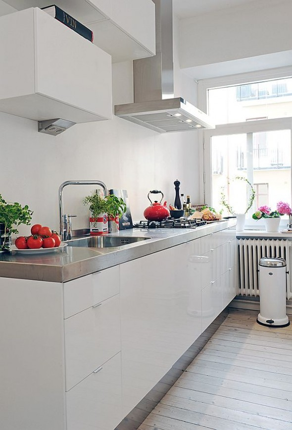 contemporary and Elegant complex table kitchen apartment in Vaasa City