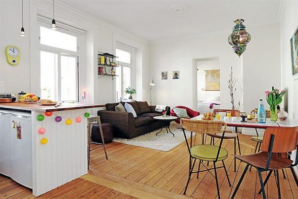 cozy small apartment in Linnaeus Town
