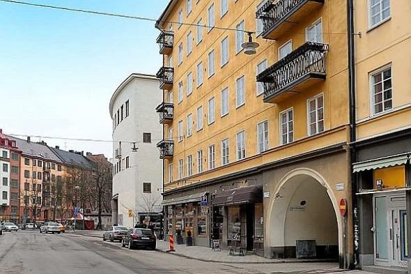 exterior Finest loft in Birka Town