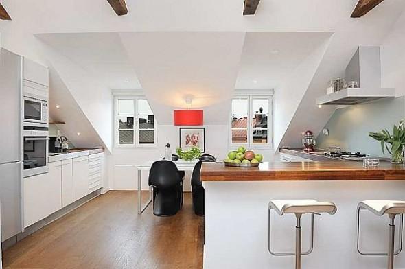 kitchen Finest loft in Birka Town