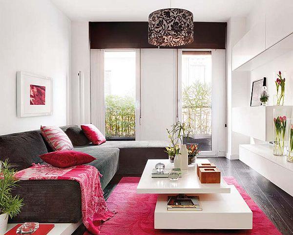 living room Duplex Apartment in Central Madrid