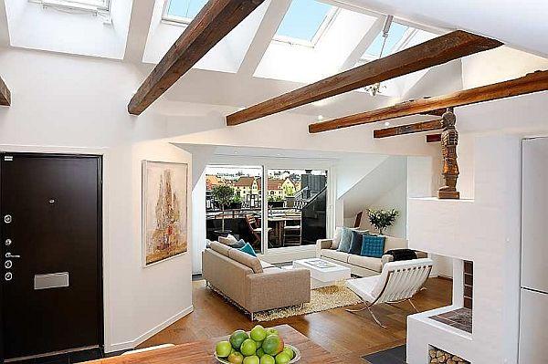 reception Finest loft in Birka Town