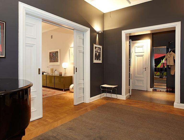 Apartment Design In Chocolate Shades Decorating ideas2