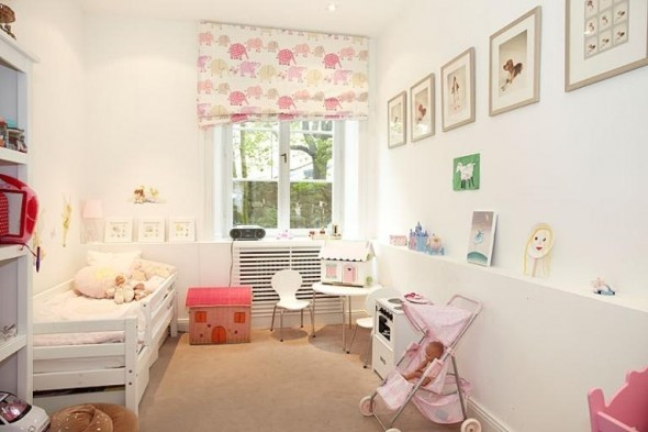 Baby Room Apartment Design In Chocolate Shades Decorating
