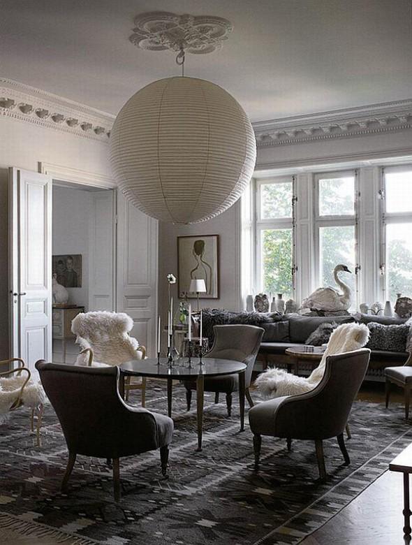 Mats Gustafson apartment living room