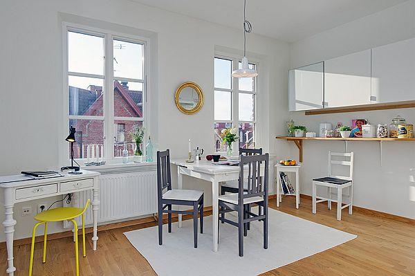 fresh interior design apartment chic