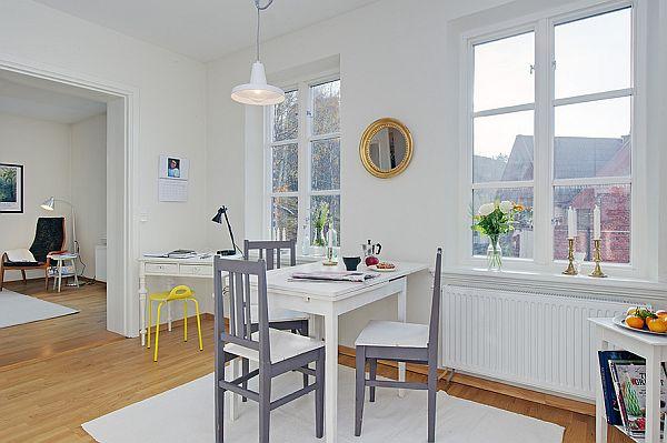 fresh interior design apartment clean white